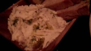 Locanda Verde Goat Cheese Ricotta Crostini