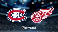 Red Wings weather Habs' late rally to win, 4-3