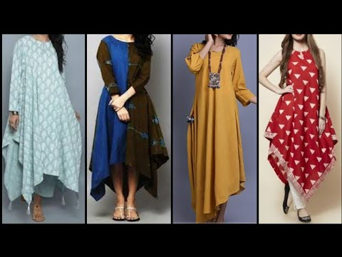 new-stylish-tail-cut-kurti-designs-2020-|-up-and-down-dress-design-|-tail-cut-wedding-dress-designs