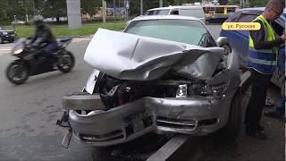 Серьезные повреждения получили автомобили, создав аварию