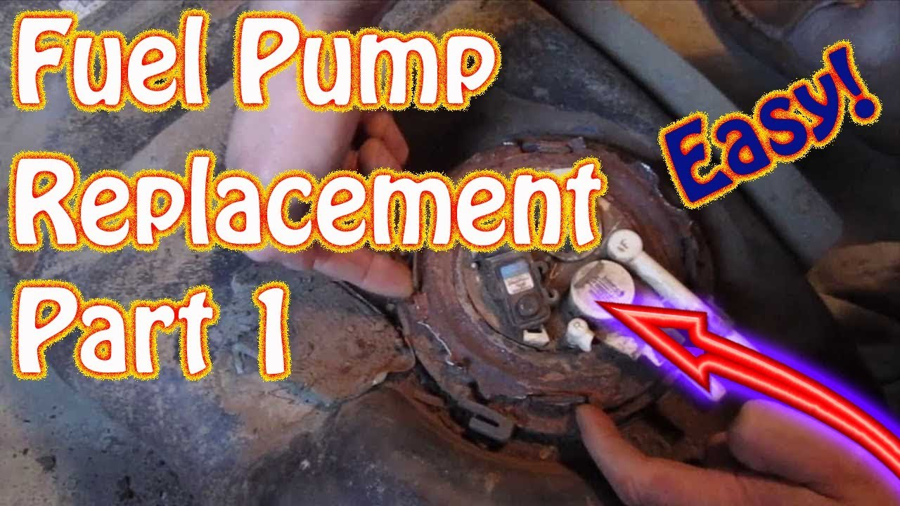 Gmc Jimmy Chevy Blazer Fuel Tank Removal Pump Replacement 1992 Engine Diagram Wiring Schematic Instructions Diy Part 1