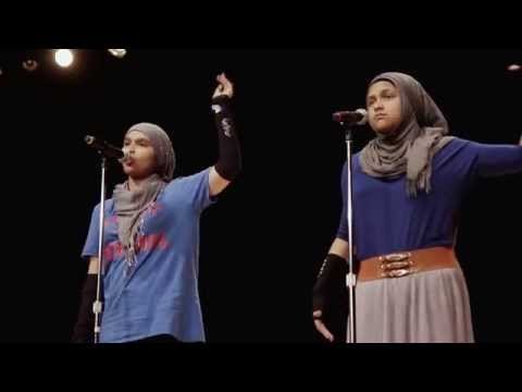 """2015 - Brave New Voices (Finals) - """"Why are Muslims So..."""" by Detroit Team"""