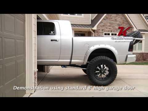 Kelderman Air Suspension-Parking In The Garage