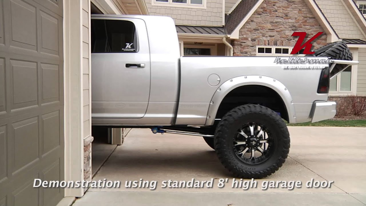 Kelderman air suspension parking in the garage youtube 4 car garage kit