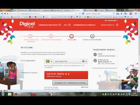 Digicel Suriname paypal timeout problem