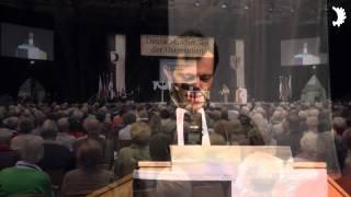 Gottesdienst mit Philip Kiril Prinz von Preußen und Domherrn Schmeier, Deutschlandtr. der Ostpreußen