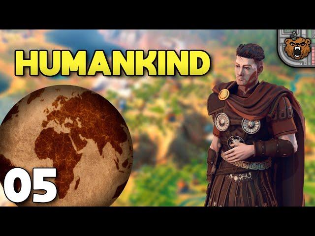 Mosquetes dor de cabeça | Humankind Terra #05 - Gameplay 4k PT-BR