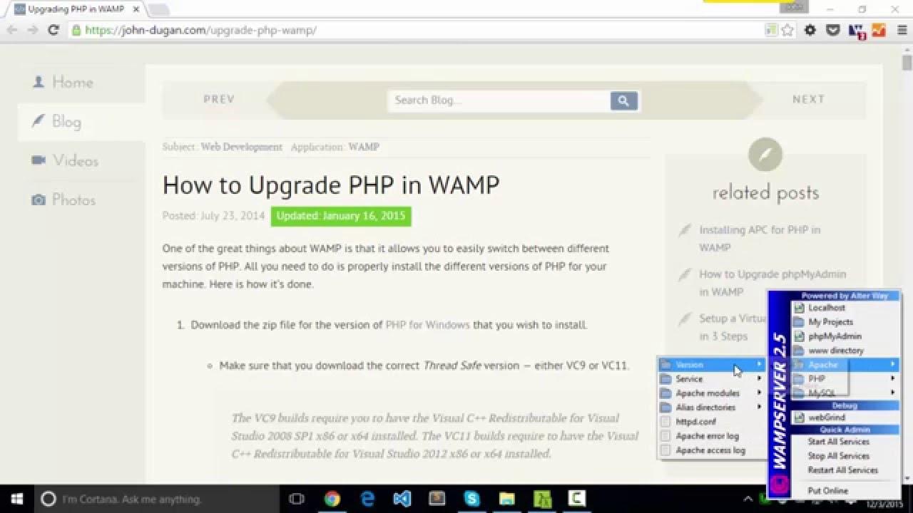 5.3.8 TÉLÉCHARGER PHP