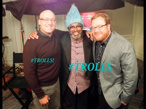 TROLLS  with Mike Mitchell,Walt Dohrn with Super Saiyan Phillip Siddiq!