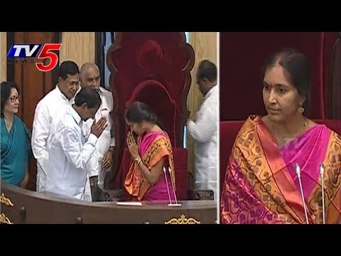 CM KCR Congrats To Padma Devender Reddy To Elected As Deputy Speaker : TV5 News
