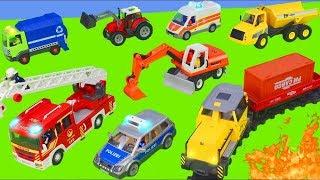 Koparka, ciężarówka zabawki , dźwig Bagrownica - Excavator…