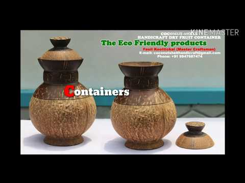 Coconut Shell Traditional Products 2019