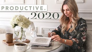 How To Be Productive in 2020