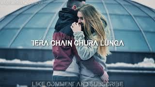 Teri neend chura lunga Tera chain chura lunga watsap status