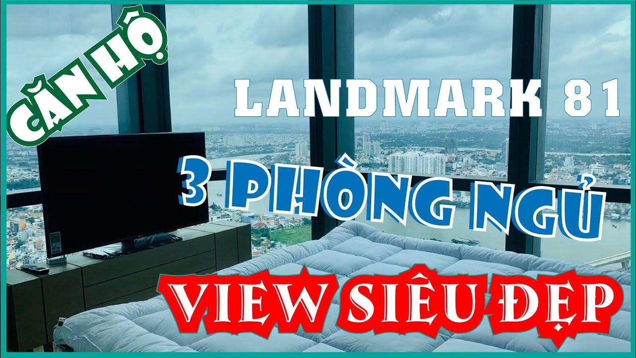 Cho Thuê Căn Hộ Cao Cấp 3 Phòng Ngủ Landmark 81 | Vinhomes Central Park | View Cực Đẹp | Giá Cực Rẻ
