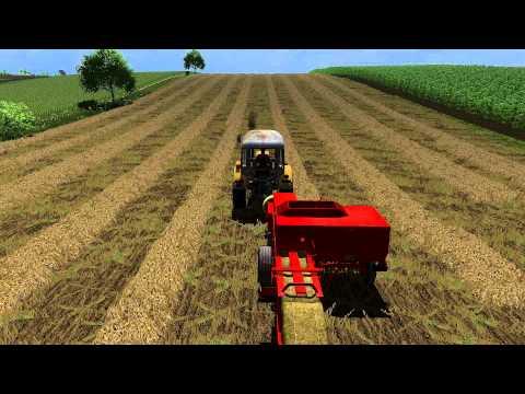 Farming Simulator 2013 - Prasowanie