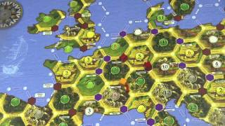 Catan Histories:  Merchants of Europe Review - with Tom Vasel