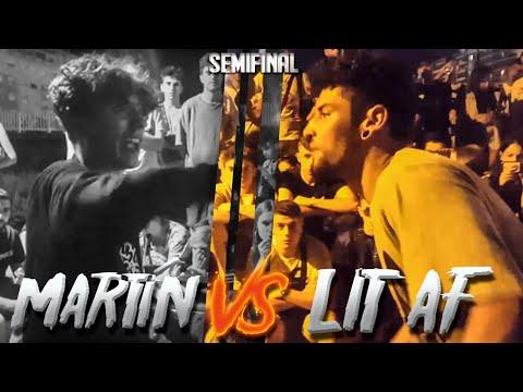 MARTÍN VS LIT AF Semifinal Freedom Fighters