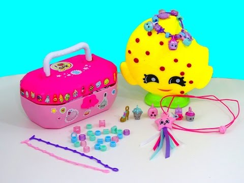 SHOPKINS JEWELRY BOX COLLECTION with Zara Star Toys Review