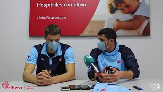 Video Presentación Lukovic con Río Breogán en Hospital Ribera POLUSA
