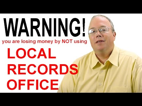 """What Does the Company """"Local Records Office"""" Focus on in the Real Estate Market?"""