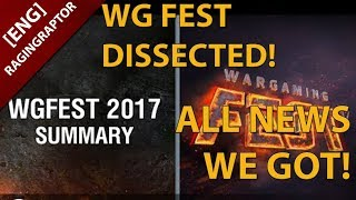 Wargaming Fest 2017: DISSECTED! All news we got!