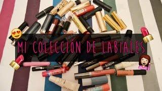 MI COLECCIÓN DE LABIALES