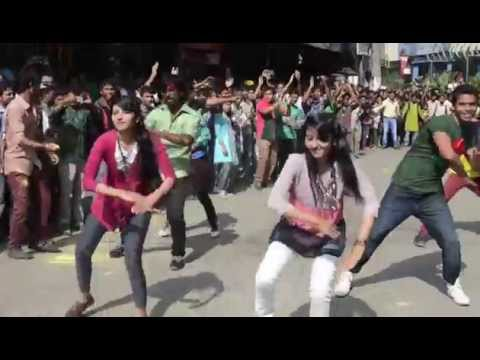 ICC T20 2014 flash mob- Northern University Bangladesh , Department of Pharmacy- Globe Campus