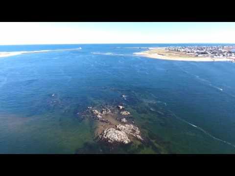 Plum Island Newburyport, MA - The Mouth Of The Merrimack - DJI Phantom 4 DJI GO App