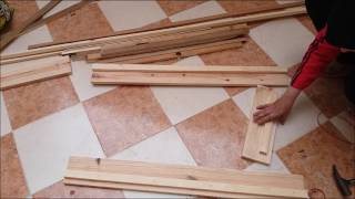 فكرة ذكية لن تدمي اذا عرفته How To Build a Planter Box comment faire un bac a fleure en bois