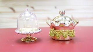 Lembrancinhas de luxo – Aprenda como fazer um cachepô e uma cúpula
