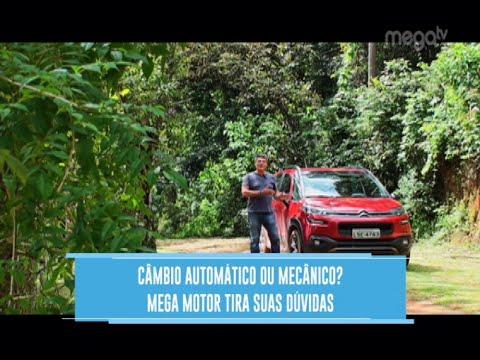Mega Motor - Aircross: Automático ou Mecânico?