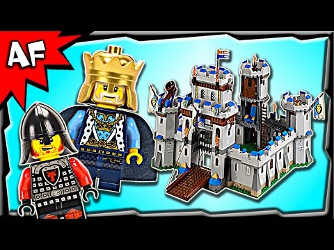 Lego Castle KING'S CASTLE 70404 Stop Motion Build Review