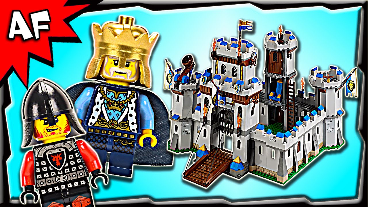 Lego Castle Kings Castle 70404 Stop Motion Build Review Clipzui