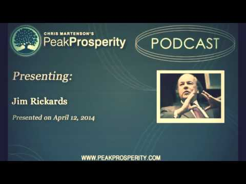 James Rickards : Next Crash Exponentially Larger than Any Financial Panic in History
