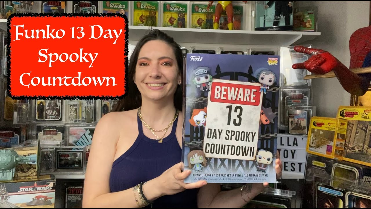 Funko 13 Day Spooky Countdown