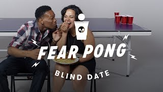 Blind Dates Play Fear Pong (Lance vs. Ella) | Fear Pong | Cut