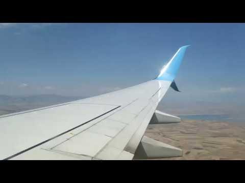 Посадка Boeing 737-800 MAX в Гюмри.