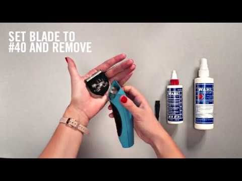 WAHL How to Clean a Wahl '5 in 1' Blade