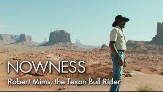 Robert Mims, the Texan Bull Rider