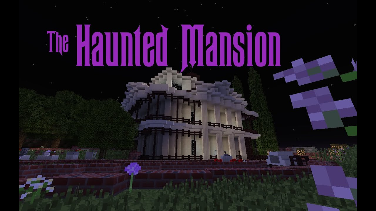 The Haunted Mansion Minecraft 18 Youtube