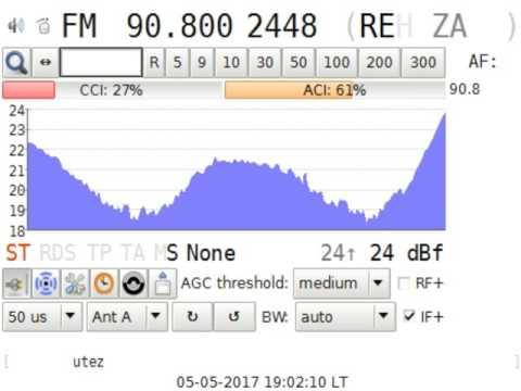 Sp-E Radio Relizane @Aïn N'sour Algeria in Craiova RO 2135 km