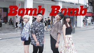 [KPOP IN PUBLIC CHALLENGE] KARD(카드) _ Bomb Bomb Dance Cover by DAZZLING from Taiwan