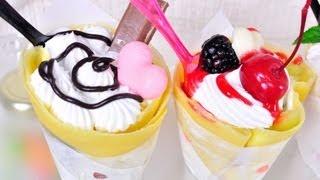 Repeat youtube video เครปญี่ปุ่น Japanese Crepe [MAXMO]