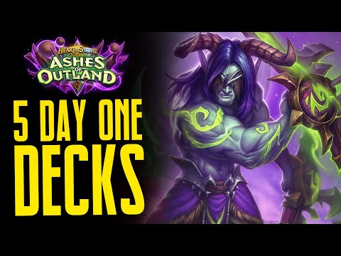 5 Great Decks To Try On Day One Of Ashes Of Outland - Hearthstone