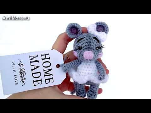 амигуруми схема ми ми мышка игрушки вязаные крючком Free Crochet