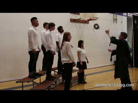 Seattle Lutheran High School Choir