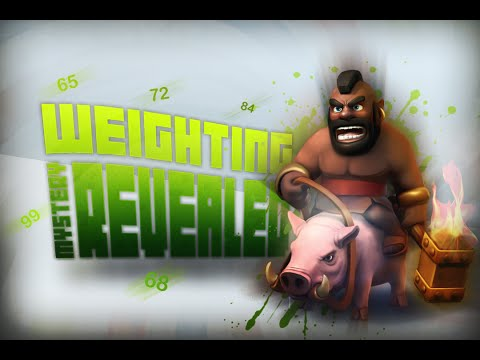 Clash Of Clans - Weighting Mystery Revealed