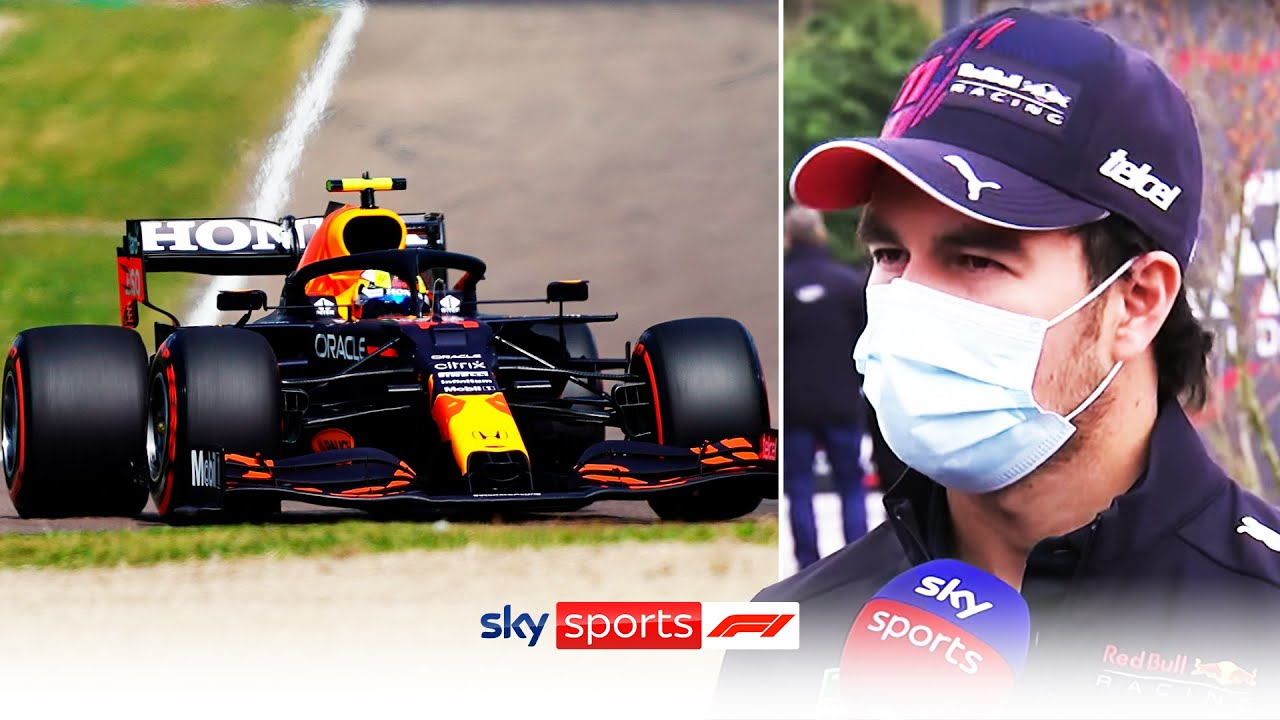 'I should be on pole' | Sergio Perez reviews his P2 qualifying lap 🏎️| Emilia-Romagna Grand Prix