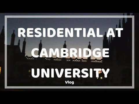 Trip to Cambridge University